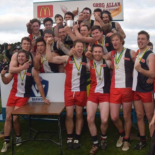 Birregurra Saints grand final team