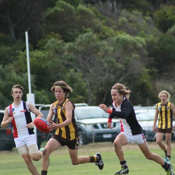 Birregurra Saints junior football 7