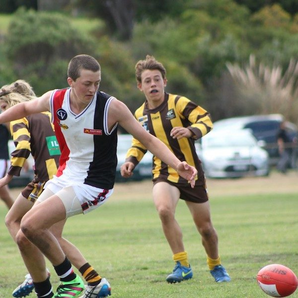 Birregurra Saints junior football 6