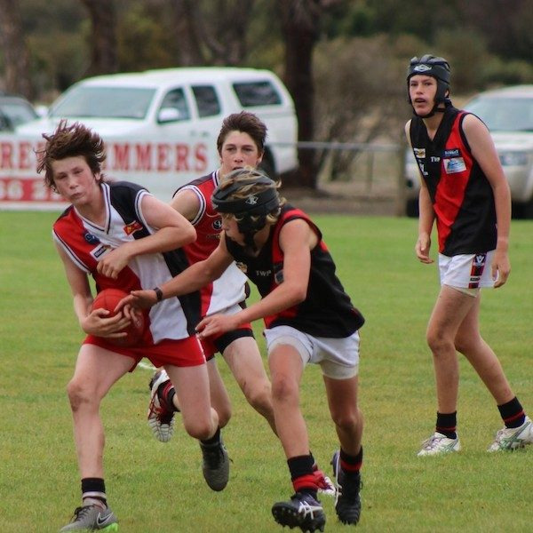 Birregurra Saints junior football 4