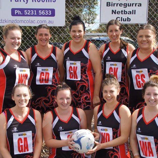 Birregurra Saints C Grade netball