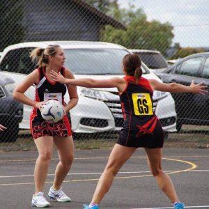 Birregurra Saints netball vs Otway Districts