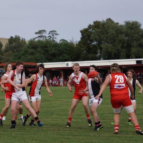 Birregurra Saints junior football 2017