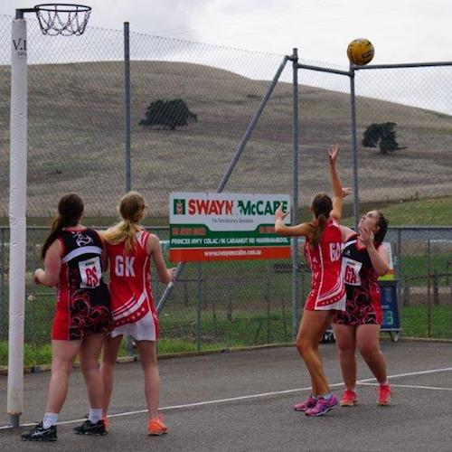 Birregurra Saints netball juniors