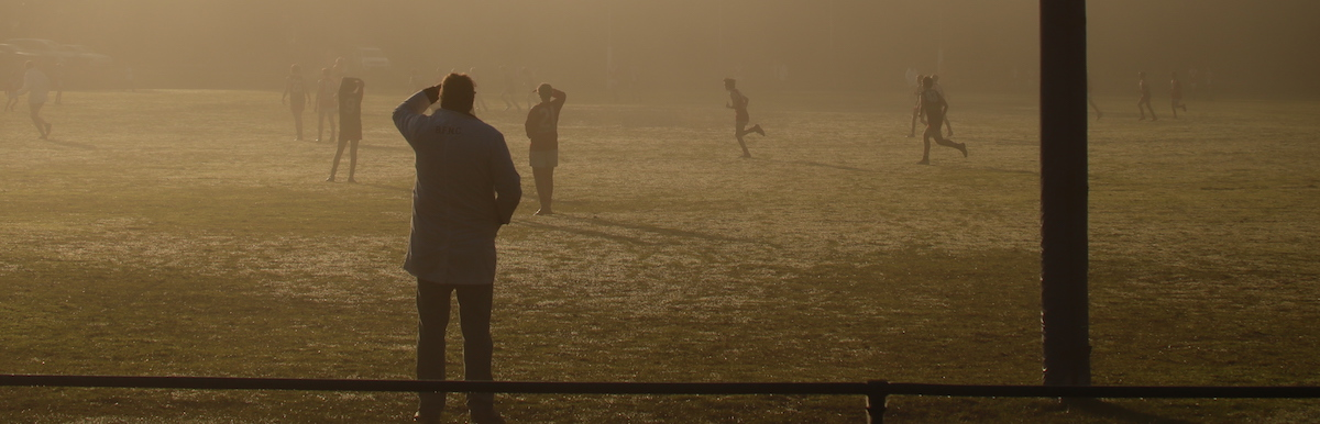 footy in the mist