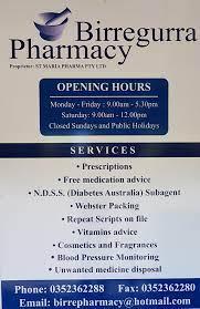 Birre pharmacy
